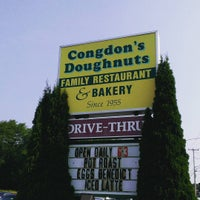 Photo taken at Congdon's Doughnuts by Doug H. on 7/12/2015