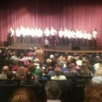 Photo taken at Stoughton High School Auditorium by Preston I. on 4/20/2013