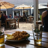 Photo taken at Marin Brewing Company by Scott S. on 6/1/2013