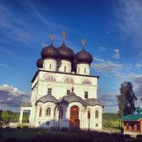 Снимок сделан в Успенский Трифонов монастырь пользователем Александра Ф. 7/25/2013