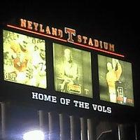 Photo taken at Neyland Stadium by Ysabel on 12/14/2012