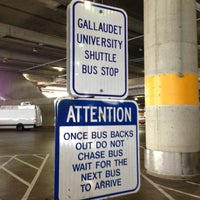 Photo taken at Gallaudet Shuttle Stop At Union Station by André P. on 7/18/2013