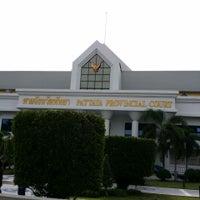 Photo taken at Pattaya Provincial Court by Vasan M. on 6/30/2014