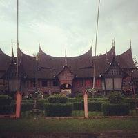 Photo taken at Anjungan Sumatera Utara by Aries D. on 2/9/2014