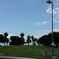 Photo taken at Mission Bay Park by Goktug A. on 7/9/2013
