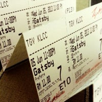 Photo taken at TGV Cinemas by Justin L. on 6/5/2013