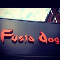 Photo taken at Fusia Dog by Terry L. on 7/1/2013