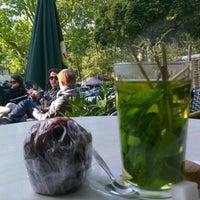 Photo taken at 't Blauwe Theehuis by Trouwvrouw on 10/11/2012
