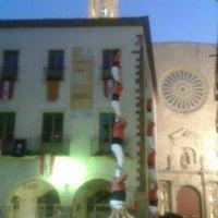 Photo taken at Ajuntament de Valls by Maria on 6/24/2015