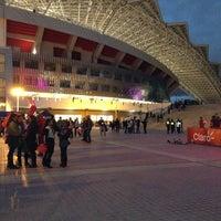Photo taken at Estadio Nacional by Camila M. on 3/4/2013