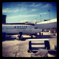 Photo taken at Concourse D by Jamilia W. on 8/14/2013
