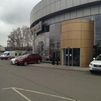 Photo taken at Lexus Сокольники by Петр П. on 4/25/2013