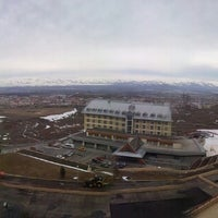 Photo taken at Polat Erzurum Resort Hotel by Yıldırım S. on 3/27/2013