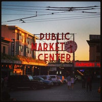 Photo taken at Pike Place Fish Market by Mezowski J. on 7/25/2013
