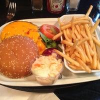 Photo taken at Indiana Café – Montparnasse by Patrick C. on 11/18/2012