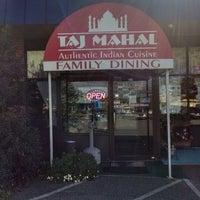 Photo taken at Taj Mahal Restaurant by David S. on 10/27/2013
