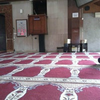 Photo taken at Masjid Babussalam by chnash a. on 9/14/2013