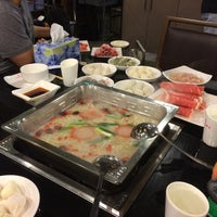 Photo taken at Shancheng Hot Pot King (山城火锅王) by Jeffrey C. on 12/29/2015