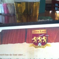 Photo taken at The Three Lions: A World Football Pub by Ryan H. on 11/3/2012
