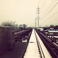 Photo taken at LIRR - Amityville Station by Ryan W. on 1/5/2014
