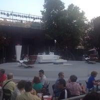 Photo taken at Teatro Galileo by Paloma P. on 7/17/2015
