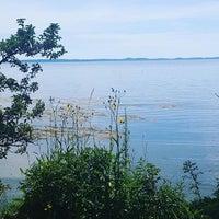 Photo taken at Searsport Shores Ocean Campground by Warren H. on 8/16/2016