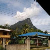 Photo taken at Santubong Beach by Hakiman H. on 12/25/2012