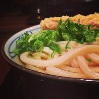 Photo taken at 丸亀製麺 仙台東口店 by Satoru A. on 3/7/2013