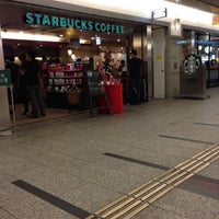 Photo taken at Starbucks Coffee クリスタ長堀店 by Endo Y. on 11/17/2012
