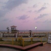 Photo taken at Kollam Beach by Bijin B. on 3/23/2013