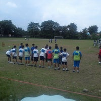 Photo taken at SMA Pangudi Luhur Van Lith by Eager E. on 1/25/2014
