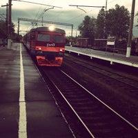 Photo taken at Ж/Д станция Мельничный Ручей by Анастасия И. on 7/9/2013