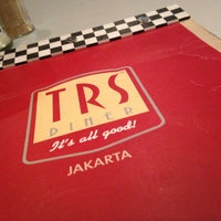 Photo taken at TRS Diner by Ardhita N. on 3/11/2013