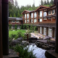 Photo taken at Alderbrook Resort & Spa by Lee A. on 5/25/2013
