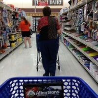 Photo taken at Albertsons by AEL on 3/27/2013