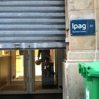 Das Foto wurde bei IPAG Business School von Martina T. am 4/2/2013 aufgenommen