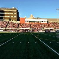 Photo taken at Varsity Stadium by Sue H. on 5/5/2013