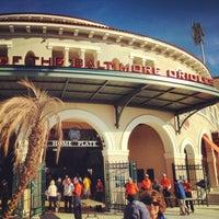 Photo taken at Ed Smith Stadium by Ryan M. on 3/21/2013