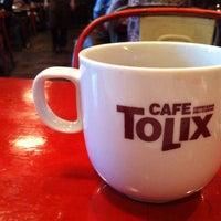 Photo taken at CAFE TOLIX by Jieun L. on 5/30/2013