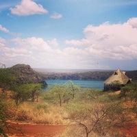 Photo taken at Lake Chala by Ana G. on 11/3/2013