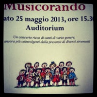 Photo taken at Scuola Civica Di Musica e Danza by Corinna T. on 5/25/2013
