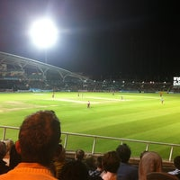 Photo taken at The Kia Oval by Claire W. on 9/25/2011