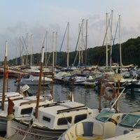 Photo taken at Puerto de Addaya by Eugeni M. on 8/5/2012