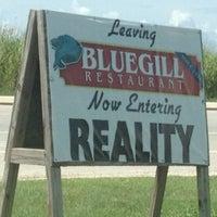 Photo taken at Bluegill Restaurant by Mark on 7/22/2012