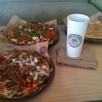 Photo taken at Pieology Pizzeria by Eric K. on 10/16/2011