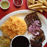 Photo taken at La Granja Restaurant by Nosa V. on 7/12/2012