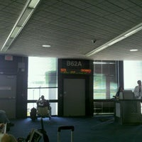 Photo taken at Gate B62A by Will H. on 9/9/2011