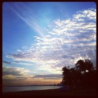 Photo taken at East Coast Park by Audrina L. on 3/15/2012