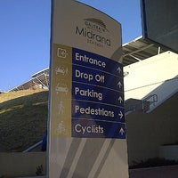 Photo taken at Gautrain Midrand Station by Thapelo C. on 7/20/2012