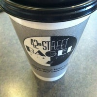 Photo taken at 42nd Street Bagel Cafe by MissJax on 6/6/2012